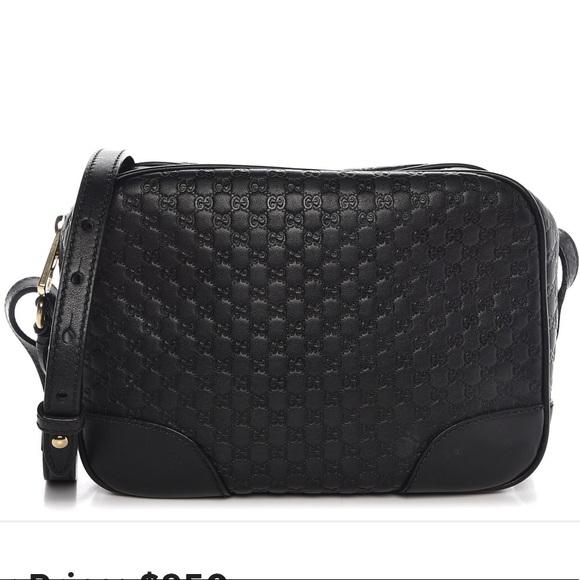 0aa0a7a46ec8 Gucci Bags | Microssima Mini Bree Messenger Bag | Poshmark